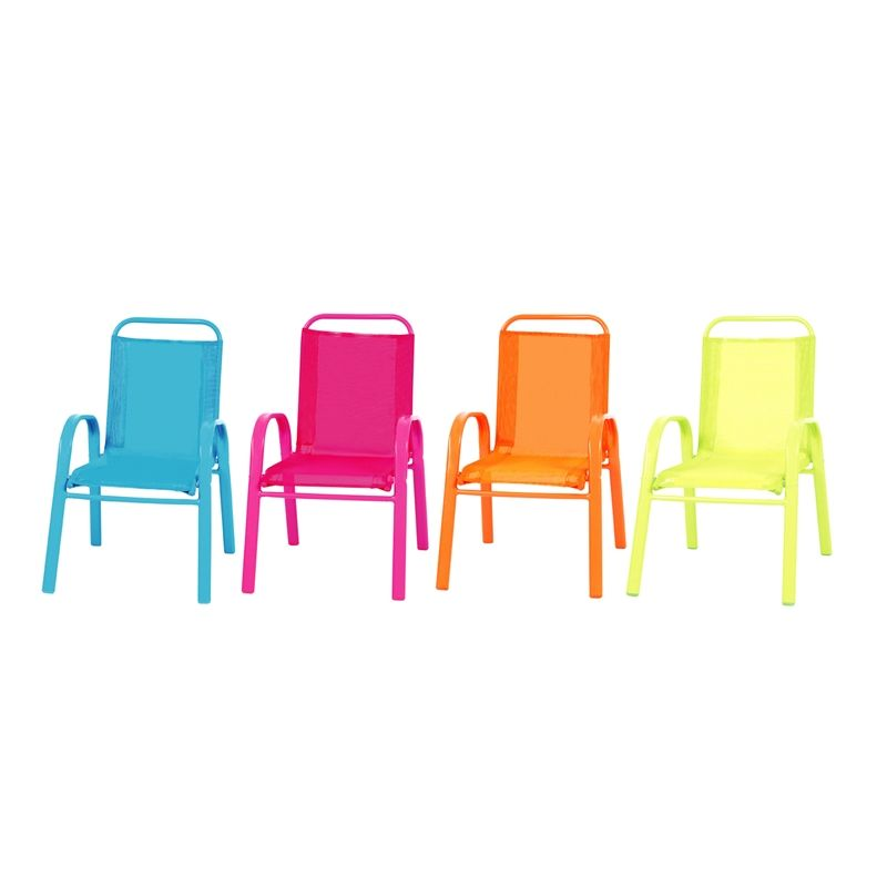 Sommersaultorted Kids Outdoor Sling Chair Bunnings Warehouse