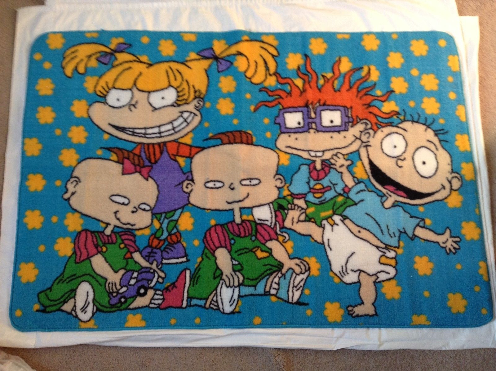 Childrens Rugs Australia Rugrats Area Rug Carpet Nickelodeon 30 X 47 Cartoon 90 39s