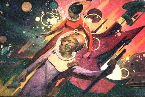 """Space Workers"", 1973 by Avi_Abrams, via Flickr"