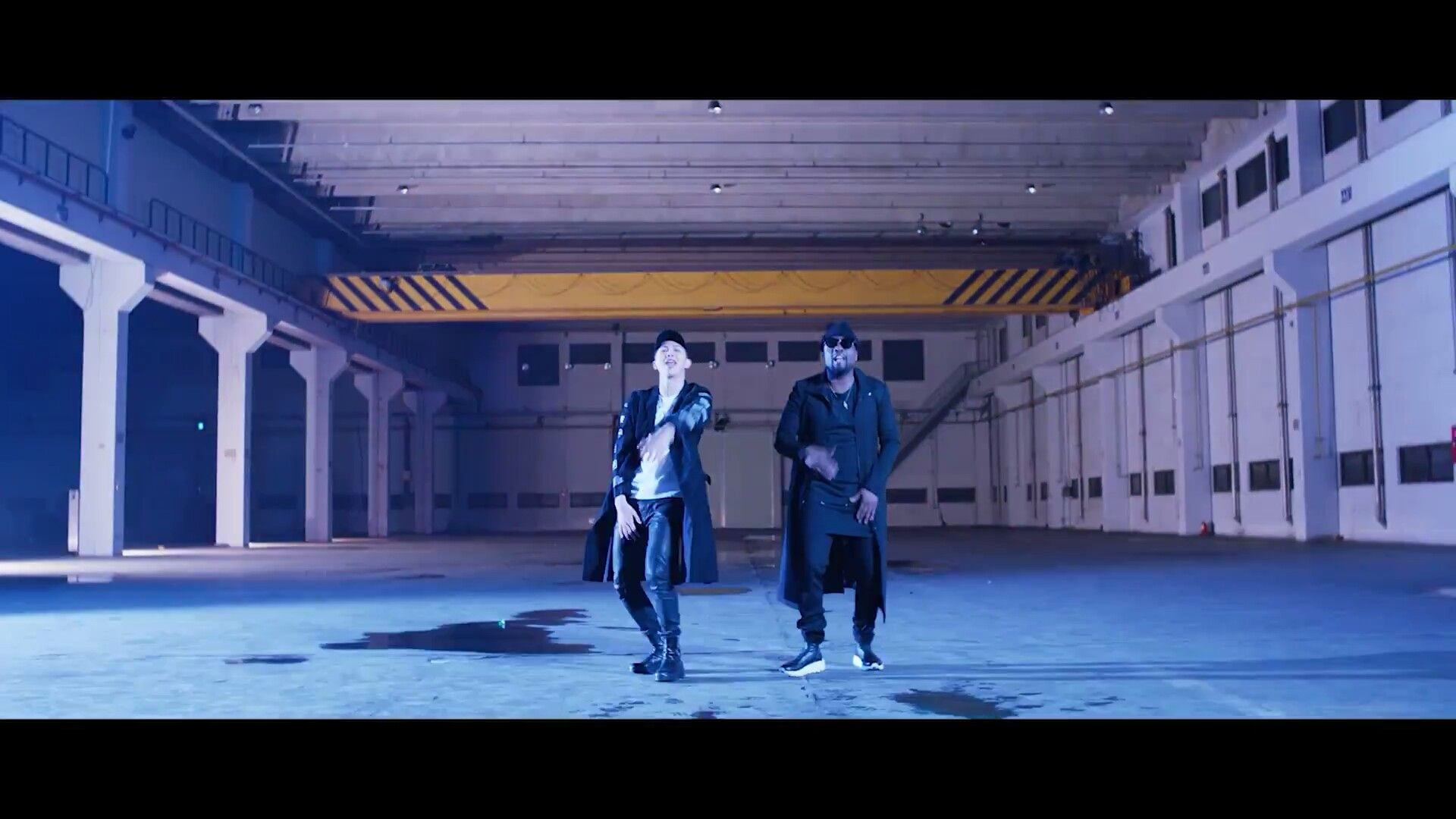Rap Monster and Wale ❤ RM, Wale 'Change' MV #BTS #방탄소년단