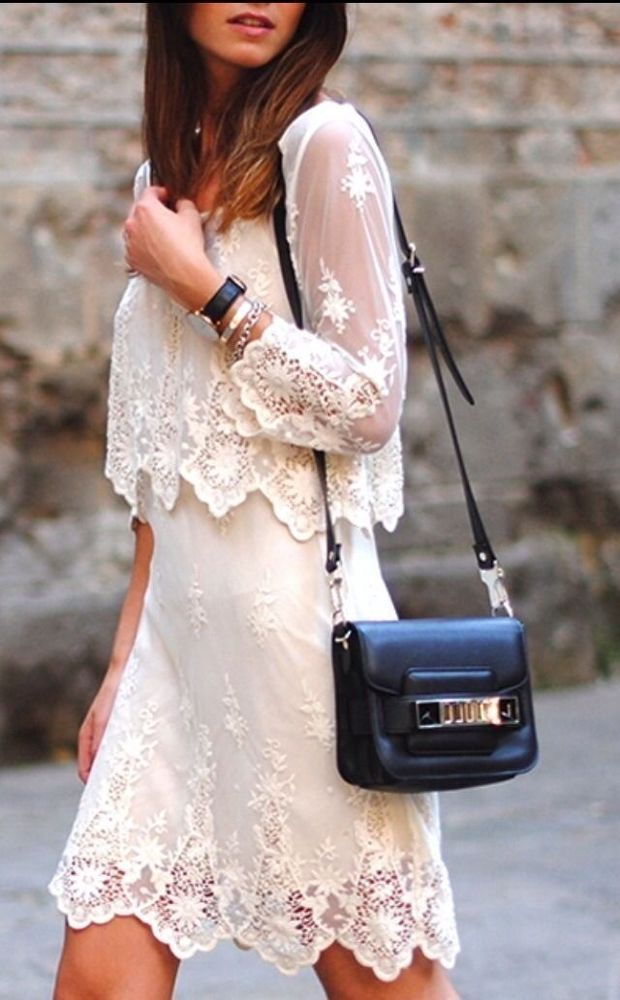 Zara Vintage Cream Embroidered Long Lace Dress September Fashion Fashion Dresses