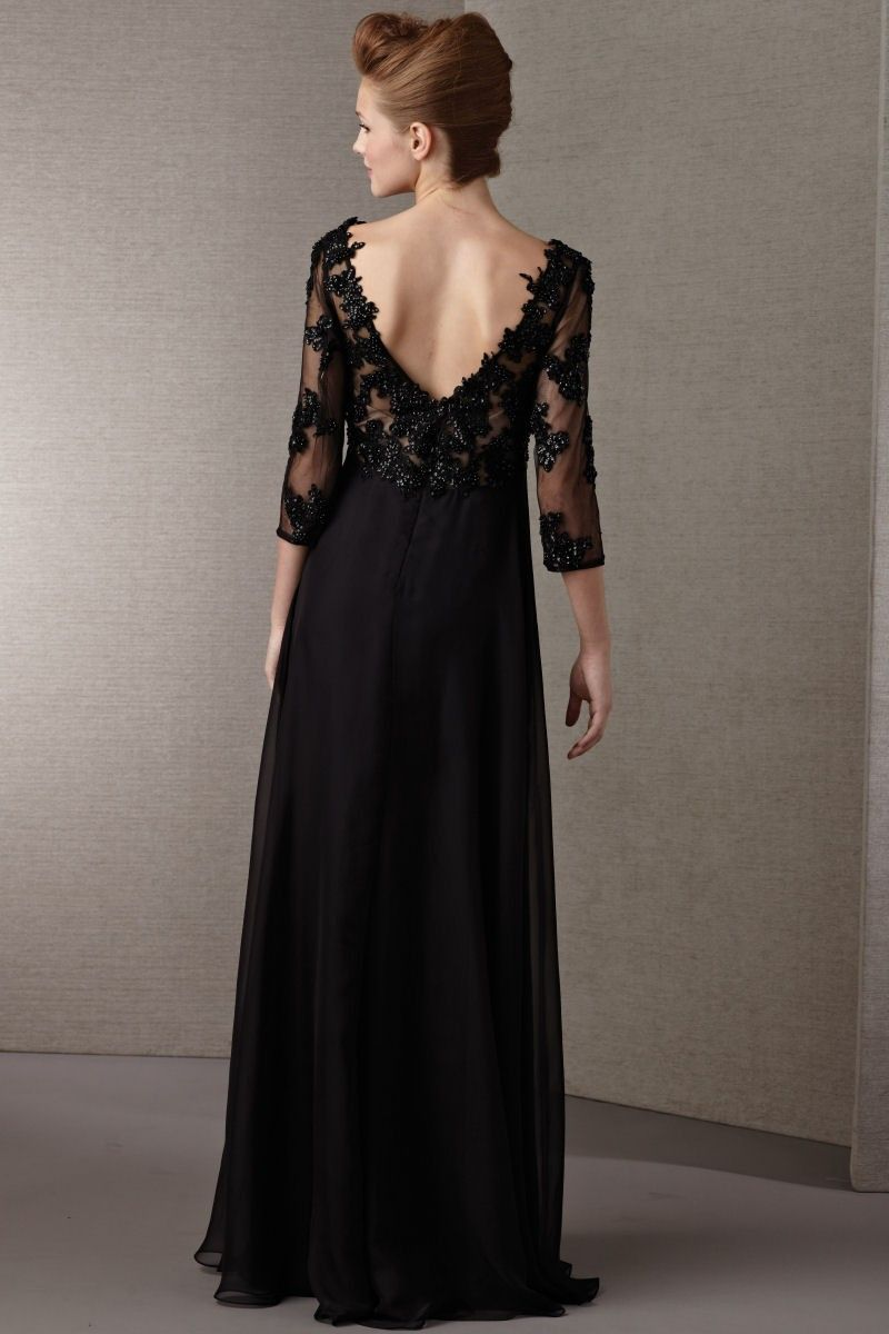 Evening Dresses Occasion Tank Top Court Train Black 3