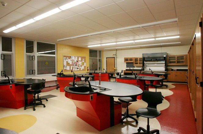 Plainfield High School Chemistry Lab NJ