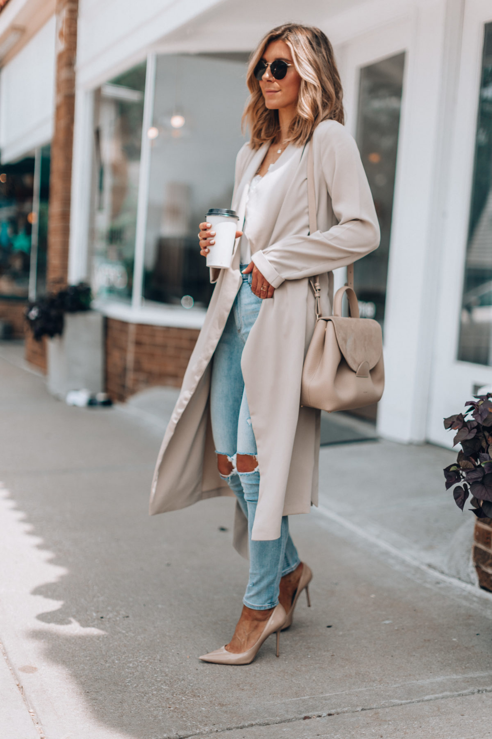 A Transitional Outfit For Summer To Fall Cella Jane Classy Outfits Transition Outfits Fashion