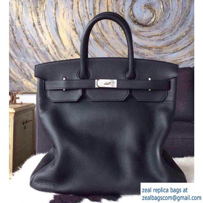 bd5edb5d5c2 hermes Birkin HAC 40 Bag In Original Togo Leather Black