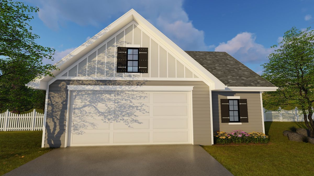 Plan 62642DJ 2 Car Garage Plan with Shop Garage