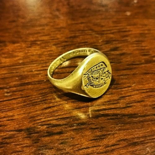 Quote To Man On Signet Ring