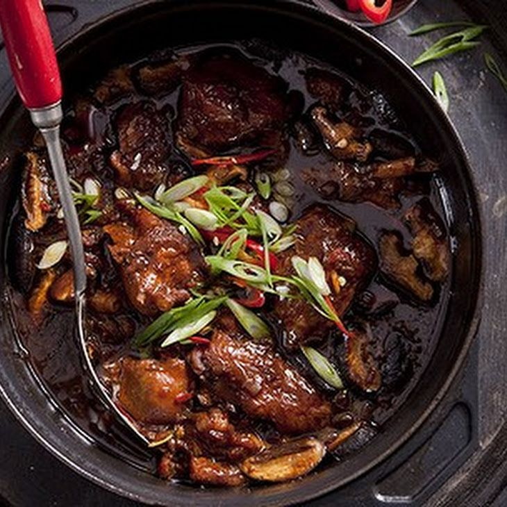 Chinese Braised Chicken Recipe Main Dishes With Plain