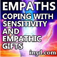 """Empaths have the ability to scan another's psyche for thoughts and feelings or for past, present, and future life occurrences.  Many empaths are unaware of how this actually works, and have long accepted that they were """"sensitive"""" to others."""