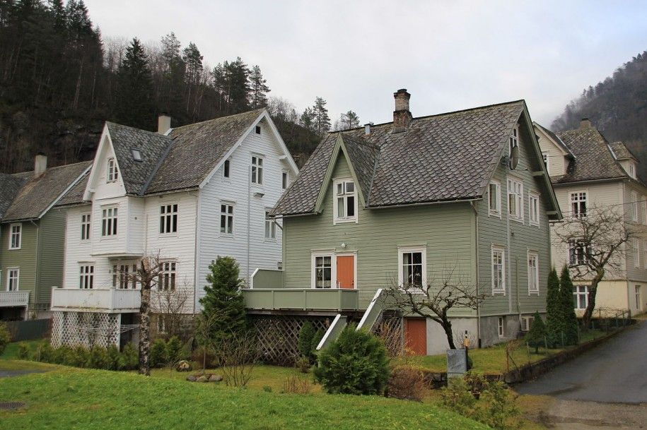 Awesome Scandinavian Houses Design Traditional Norwegian With Nice Chimney Ideas And Good Window