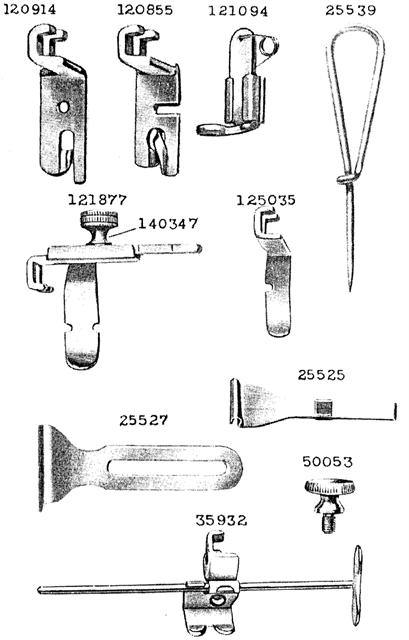 Vintage Singer Treadle Sewing Machine Parts