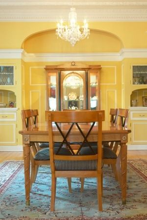 Explore Yellow Dining Room Colors And More