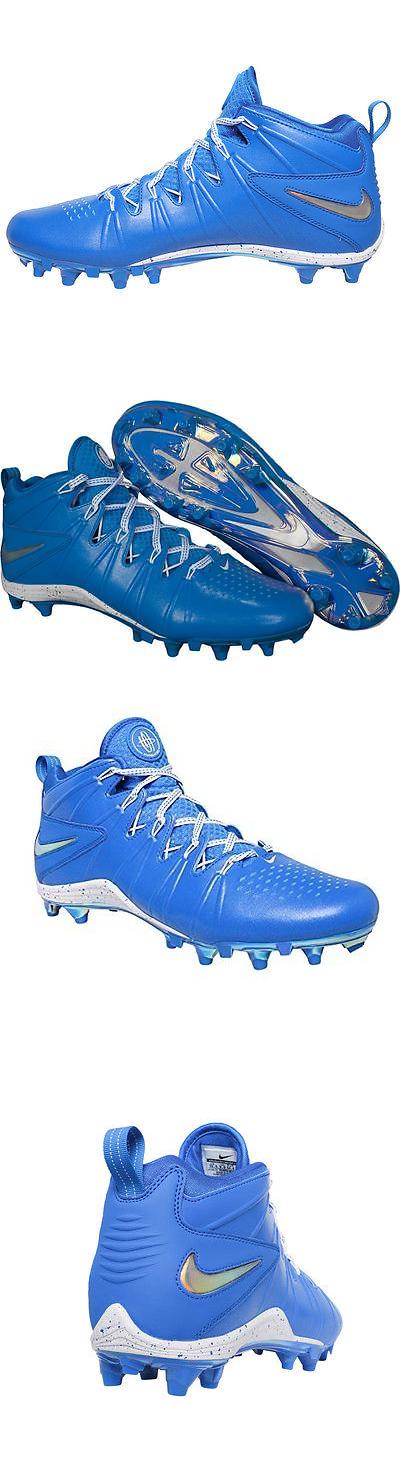 Footwear 159154: Nike Huarache 4 Lx Le Lacrosse Cleat Photo Blue Metallic Men S Size 15 New -> BUY IT NOW ONLY: $35.99 on eBay!