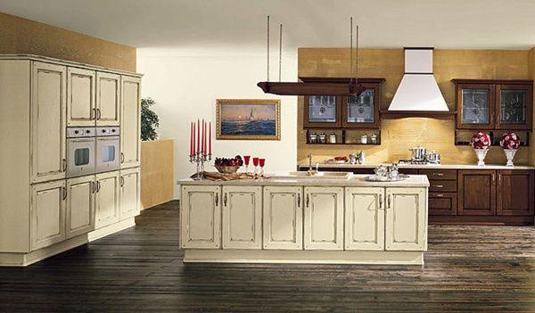 Arrex le cucine propone Gloria, una cucina componibile classica ...