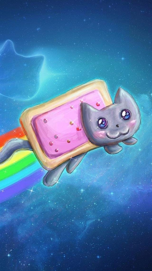 Pin By Muddy3 On Wallpapers Nyan Cat Cool Wallpapers For Ipad Cool Galaxy Wallpapers