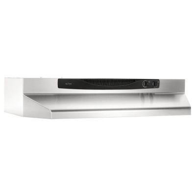Nutone Acs Series 30 In Convertible Range Hood In Stainless Steel Acs30ss At The Home Depot Stainless Range Hood Broan Range Hood