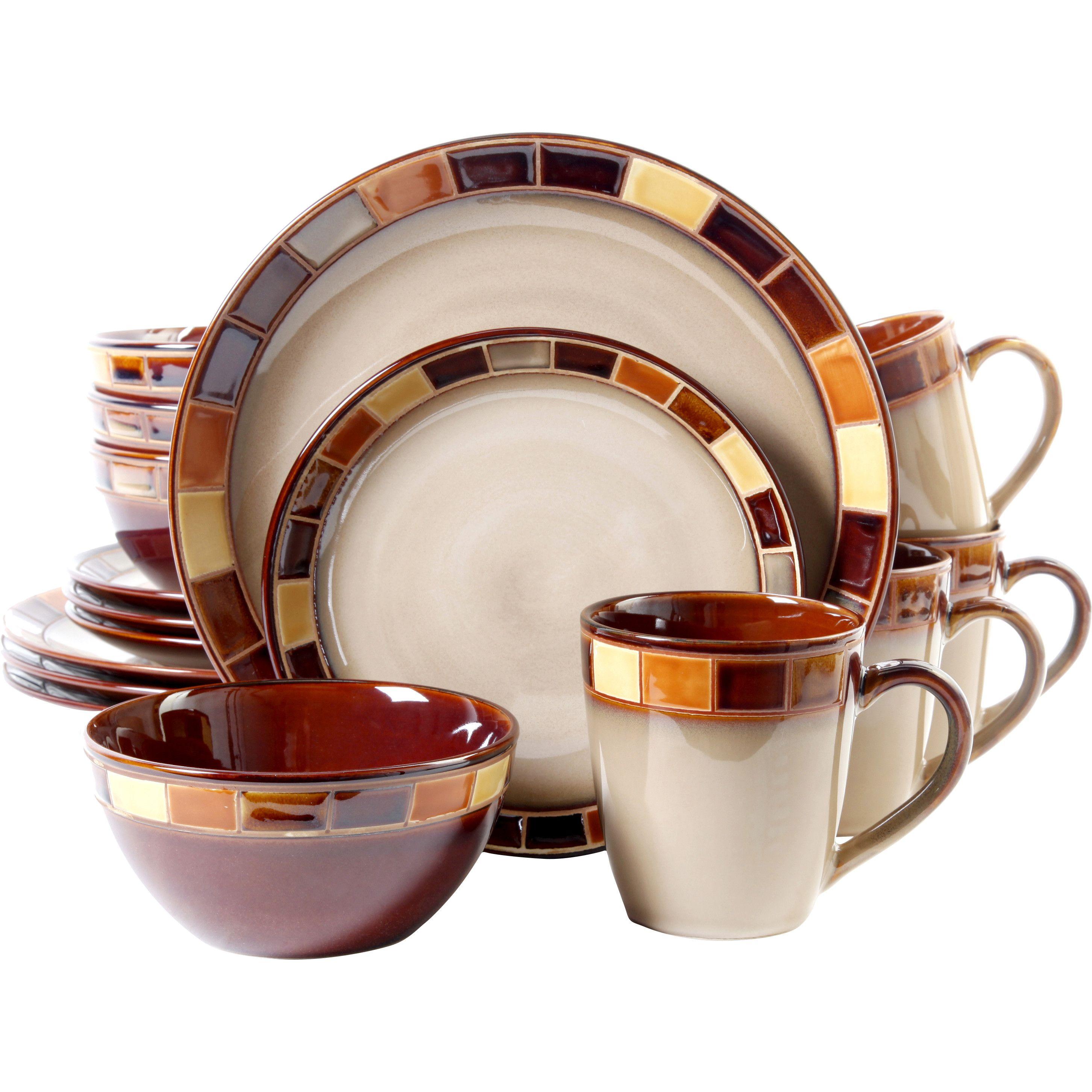 Gibson Casa Estebana 16 Piece Dinnerware Set  sc 1 st  Pinterest & Gibson Casa Estebana 16 Piece Dinnerware Set | Dishes | Pinterest ...