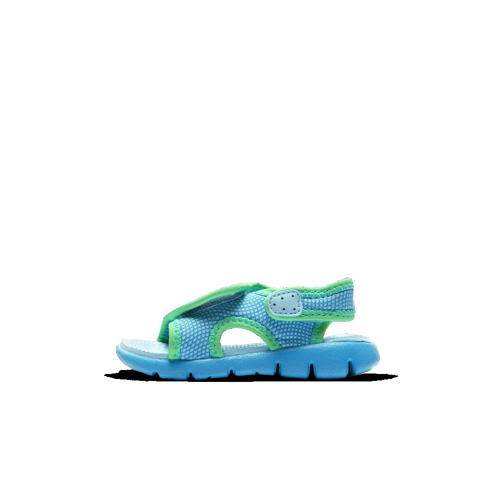 88414d1b9234 Nike Sunray Adjust 4 Infant Toddler Sandal Size 2C (Blue ...