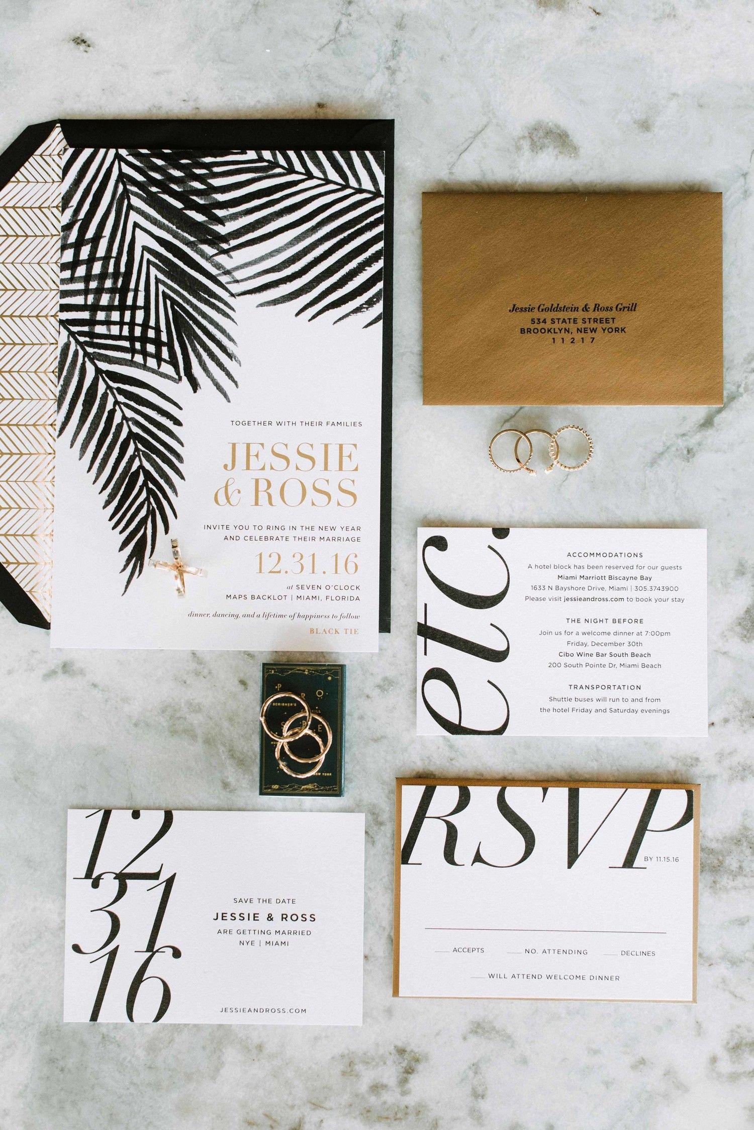 30 Modern Wedding Invitations We Love Wedding Guest List Etiquette Modern Wedding Invitations Wedding Invitation Enclosures