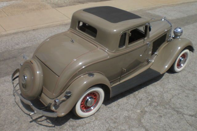 1933 Dodge Rumble Seat Coupe Matching Numbers Survivor 1932