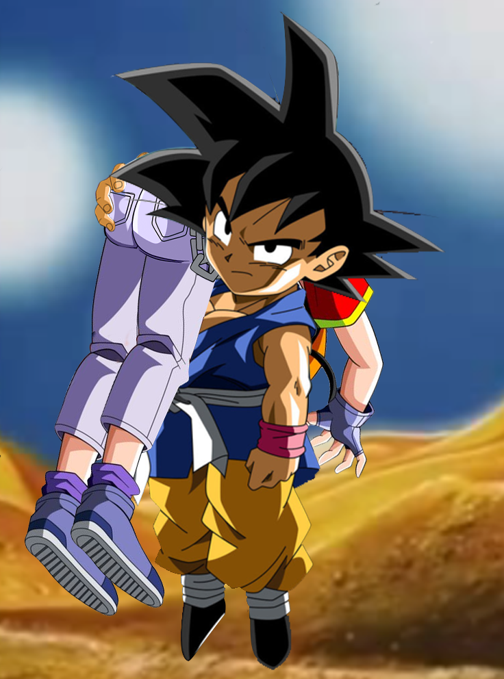 Pan Fron Dragon Ball Gt Gets Ots Carry By Ronaldcota