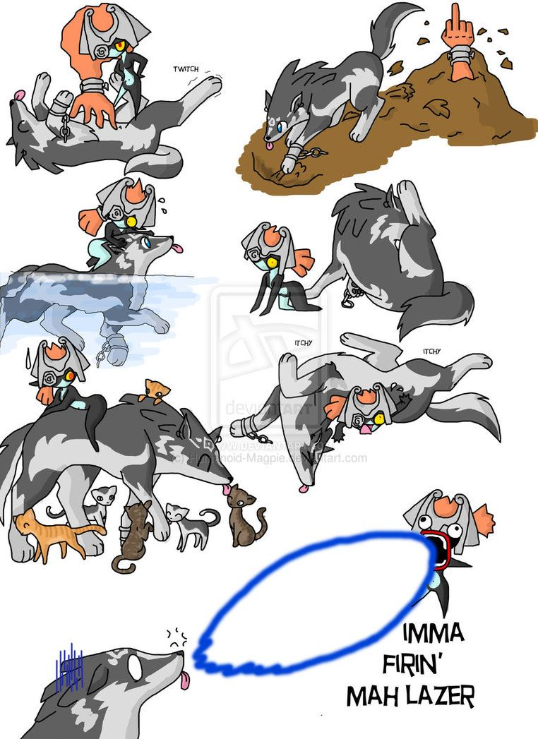 Wolf link chaos 3 by Humanoid-Magpie on DeviantArt