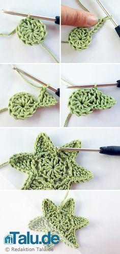 Stern Häkeln Diy Anleitung Für Einen Tollen Häkelstern Crochet
