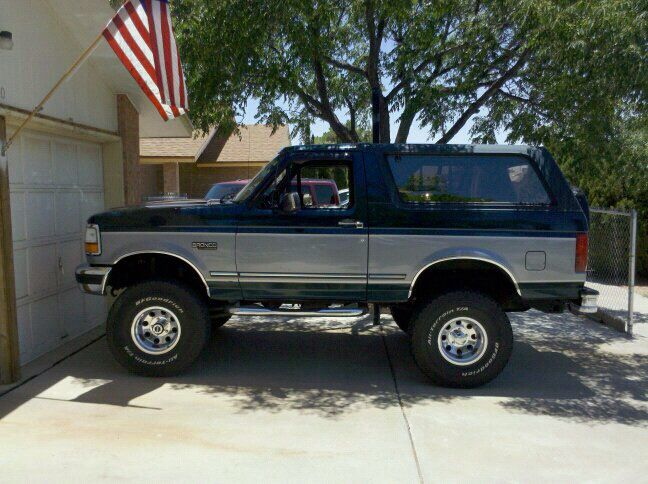 95 Xlt 6 Inch Lift Running On 35s Classic Ford Trucks Ford
