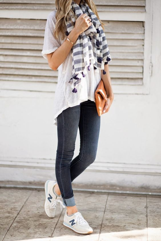 8811fbcbbce9 6 Ways to Wear Sneakers With Your Everyday Outfit