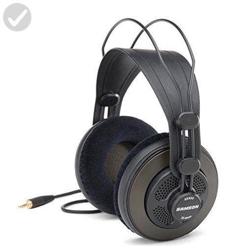 Samson sr850 semi open back studio reference headphones fun samson sr850 semi open back studio reference headphones fun stuff and gift ideas negle Image collections