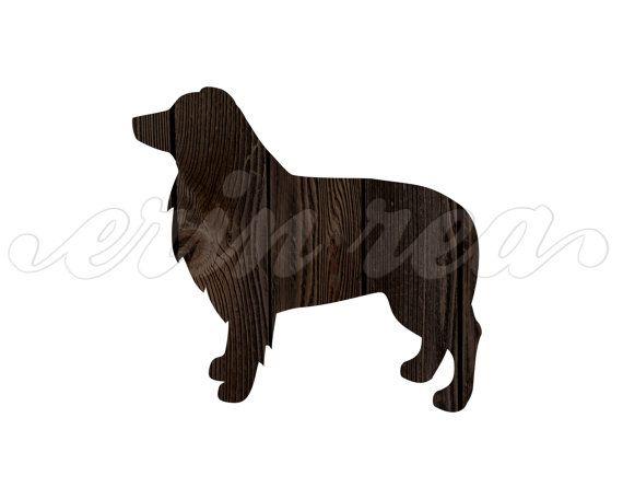 Australian Shepherd Aussie Dog Silhouette By Modernpetportraits 12 00 Australian Shepherd Aussie Dogs Dog Silhouette