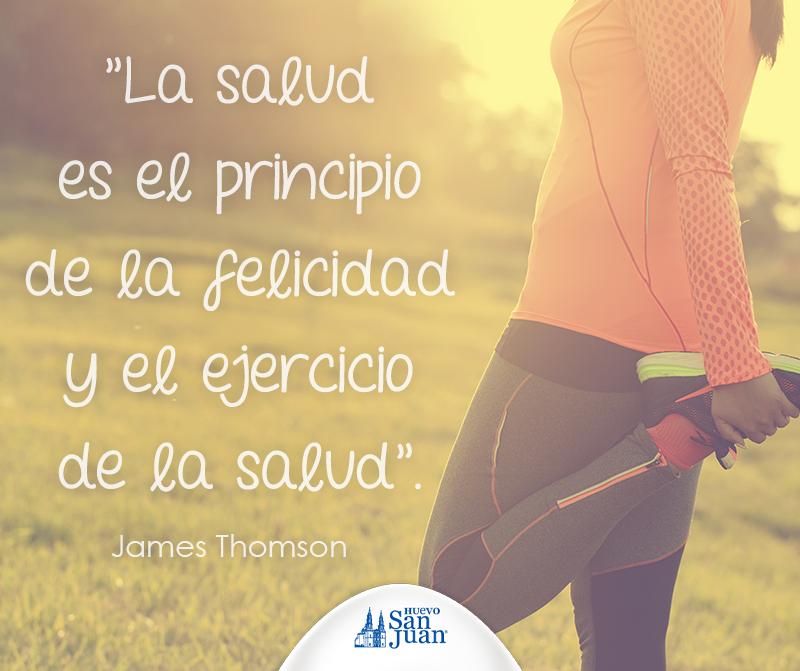 Todo empieza con una buena #salud. #FitnessMotivation #HuevoSanJuan