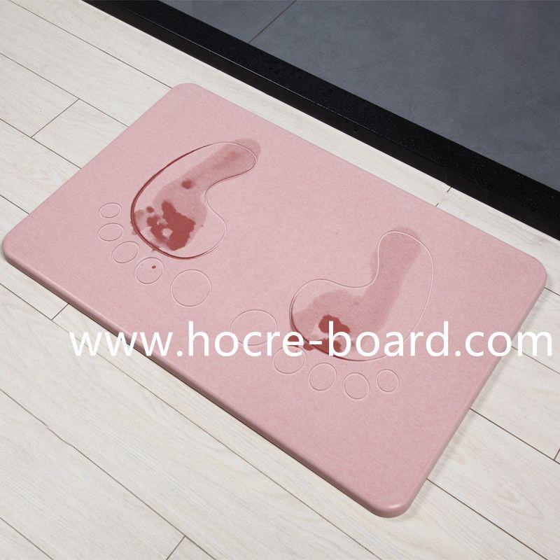 Happy Feet Diatomaceous Earth Bath Mat Fiber Cement Board Fiber Cement Roofing Sheets