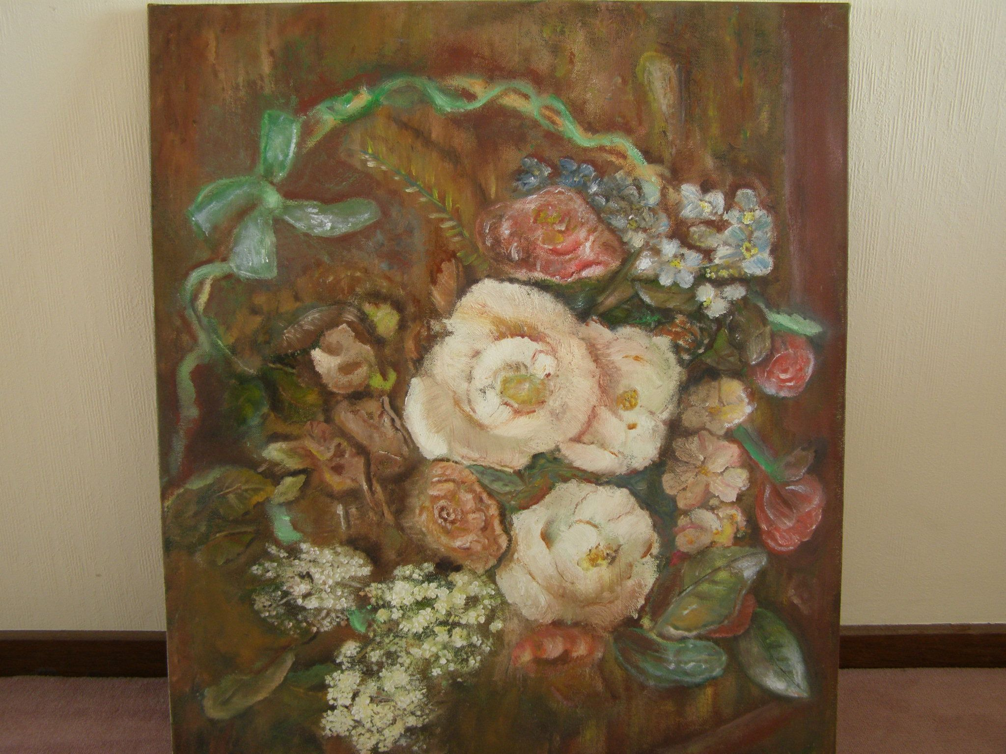 Atie Wijdenes, Mand met bloemen