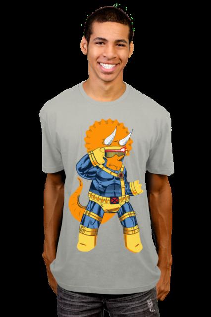 Triceraclops T-Shirt   Jim lee e8ab684339f4