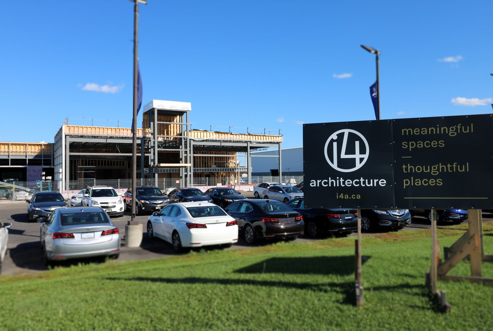 Balmoral Park Acura | Architects | i4architecture | Cory Stechyshyn, OAA | Project Architect
