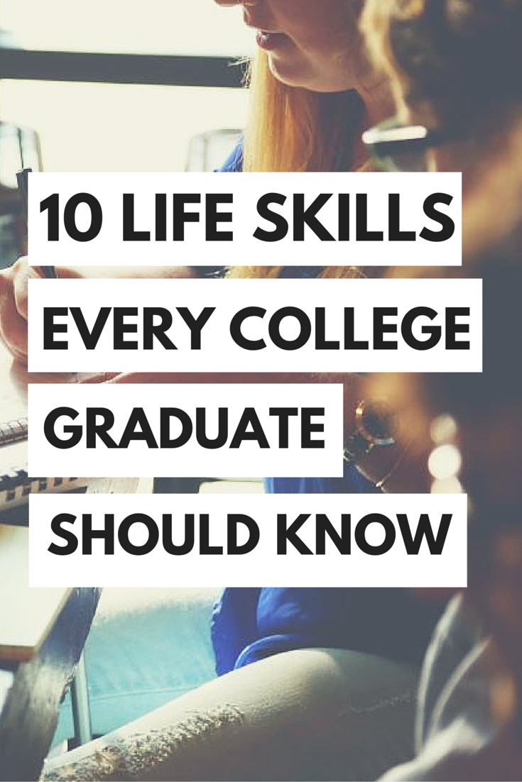 Every college graduate should know these life