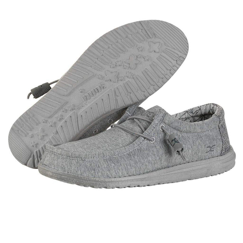 HEY DUDE Wally Stretch Fleece Men Grey (110533000) Hey