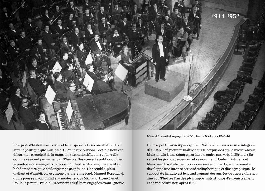 Art Déco - Paris - Le Théâtre des Champs Elysées - Petite Histoire, de sa Construction jusqu'aux Années 50