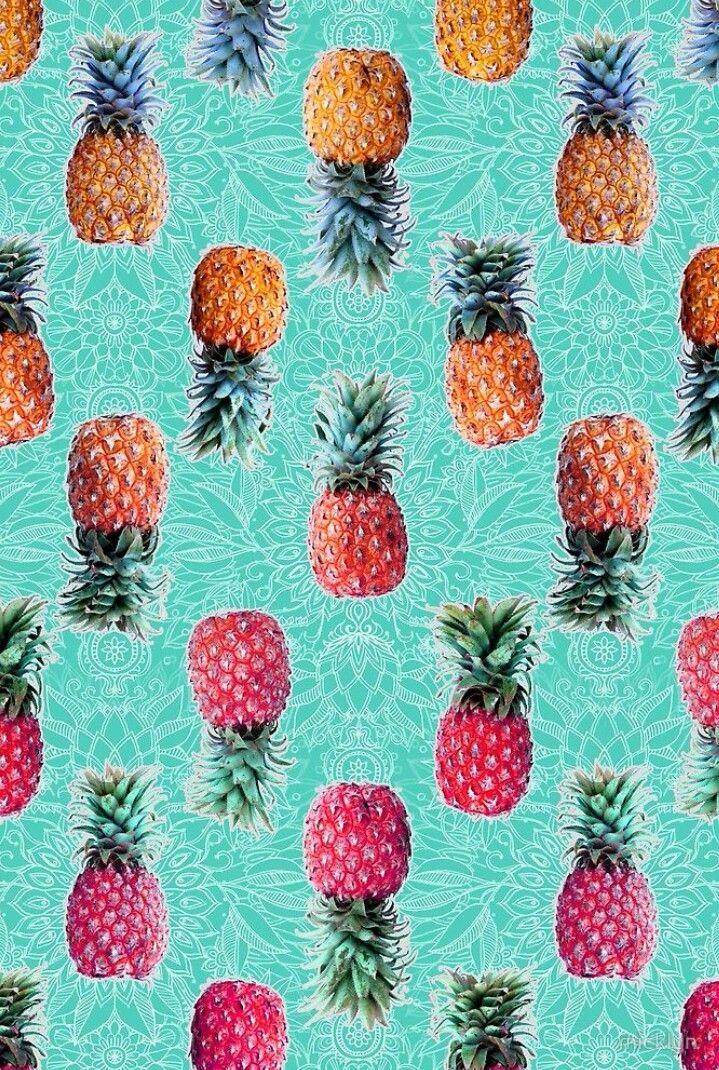 Pineapple Wallpaper Hd Desenler Cerceveler Duvar Kagidi