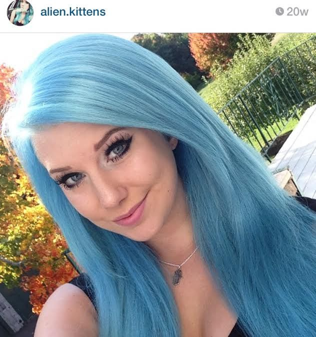 pastel blue hair using ion quotazurequot by alienkittens on