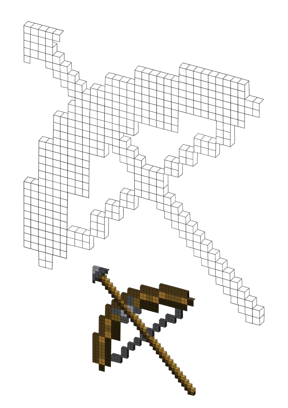 Minecraft Bow And Arrow Coloring Pages 2 Free Coloring Sheets 2021 In 2021 Minecraft Coloring Pages Free Coloring Sheets Minecraft Bow And Arrow
