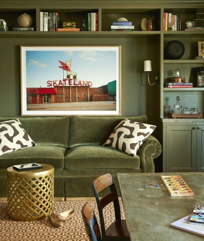 einrichtungstipps wohnzimmerfarben wandfarbe grn - Wohnzimmerfarben