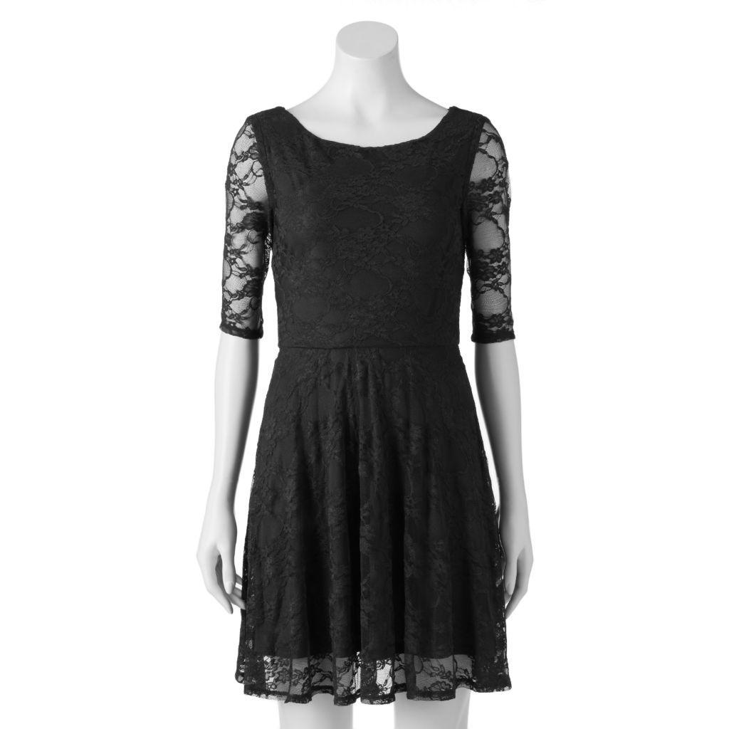 Juniorsu wrapper floral lace skater dress dresses for a