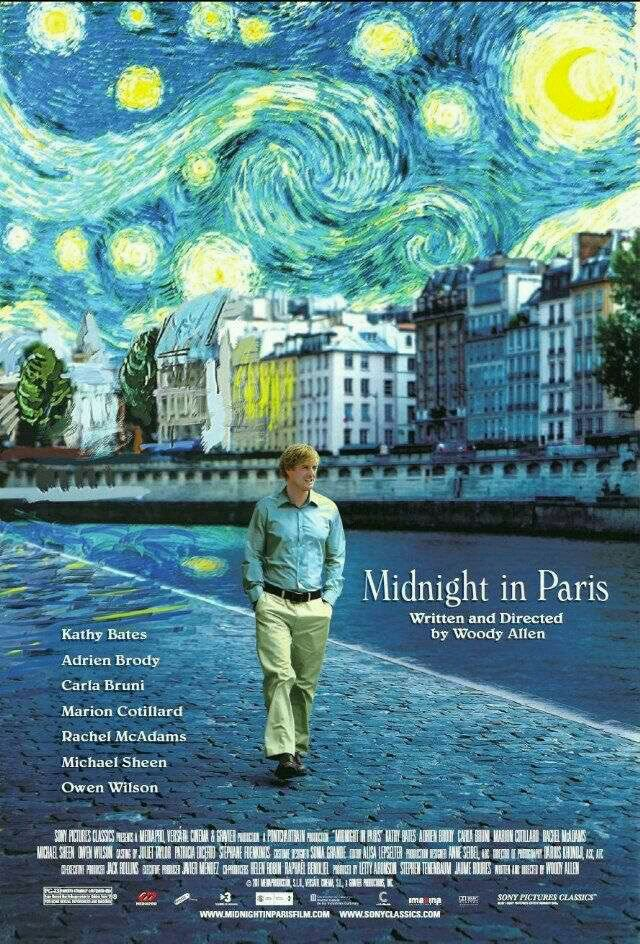 * Midnight in Paris (2011)