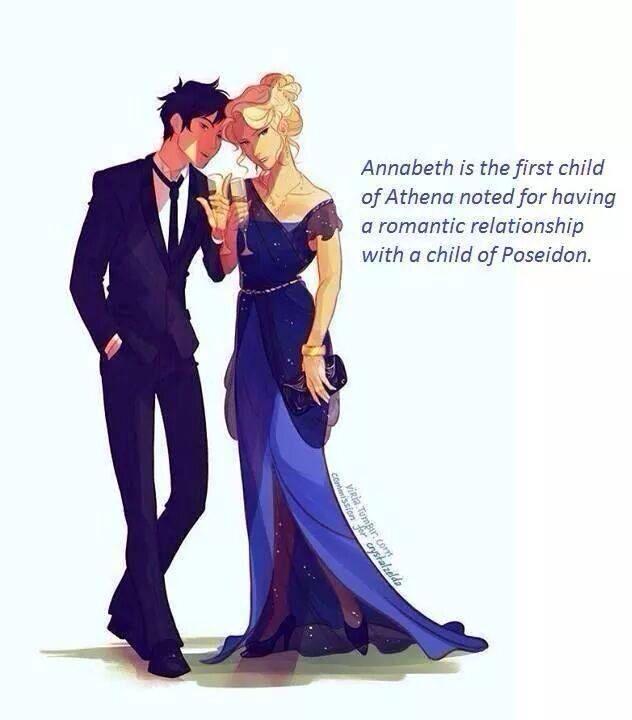 Poseidon and athena dating fanfiction