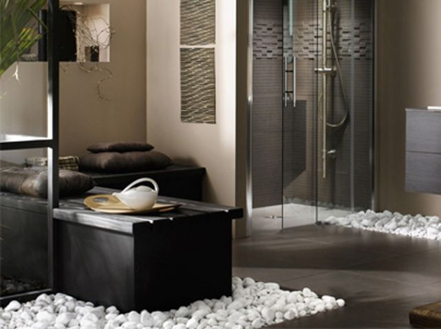 10 façons de se créer une salle de bains zen - Elle Décoration House