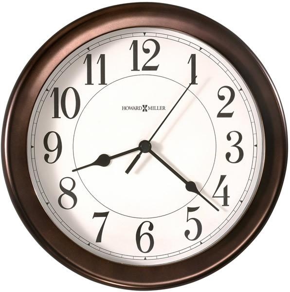 Howard Miller Virgo Wall Clock Oil Rubbed Bronze 625 381