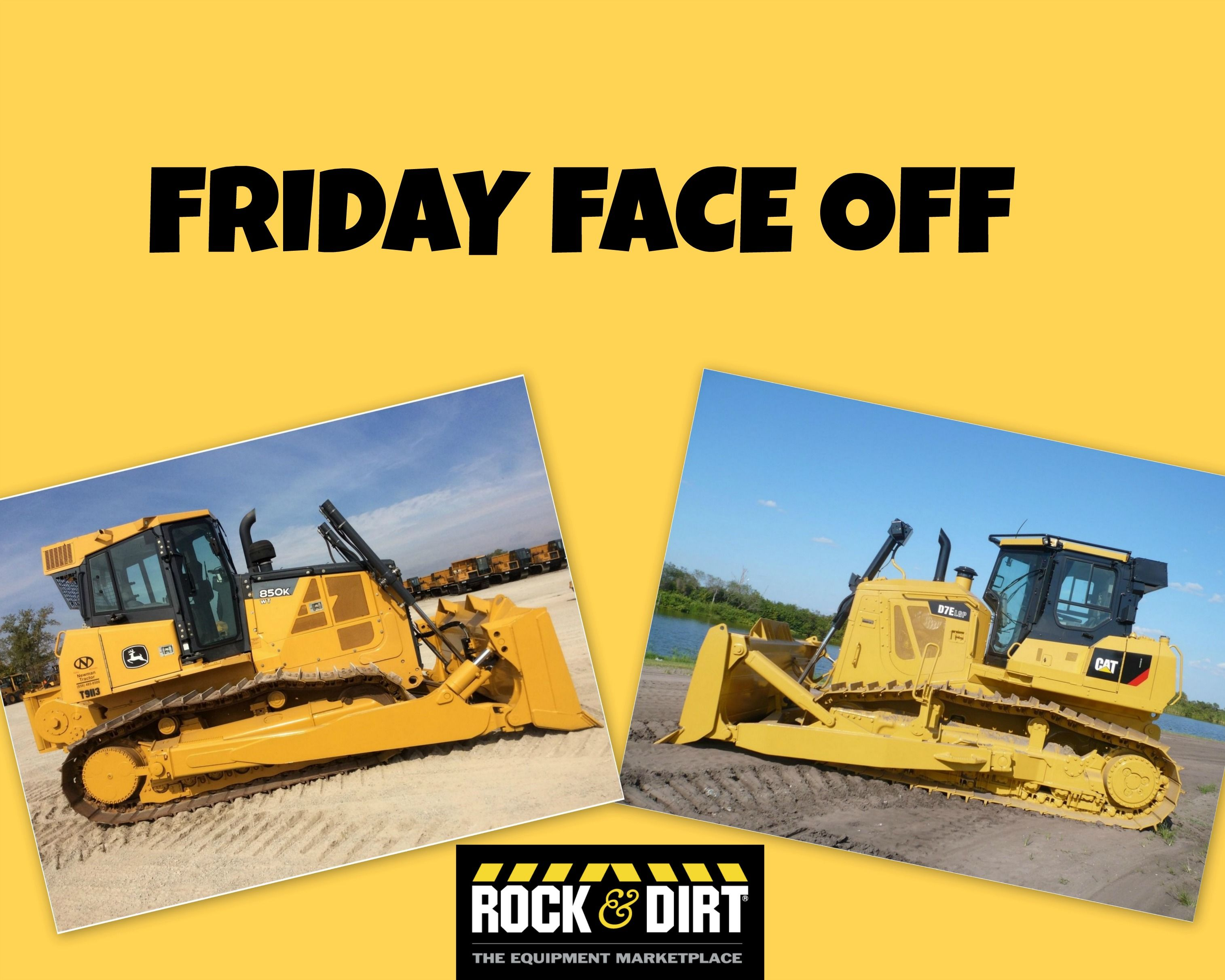 Pin By Rock Amp Dirt On Friday Face Off Crawler Tractor
