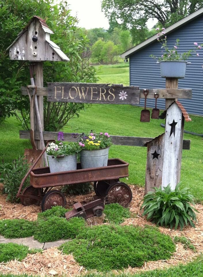 20 Country Garden Decoration Ideas Yards Gardens And Landscaping